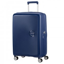 SAMSONITE SOUNDBOX Valigia rigida spinner 67 espandibile MIDNIGHT NAVY