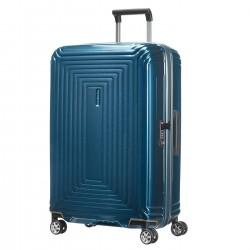 SAMSONITE NEOPULSE Trolley spinner 69/25 METALLIC BLUE
