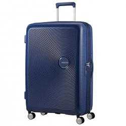 SAMSONITE SOUNDBOX Trolley spinner 77 exp MIDNIGHT