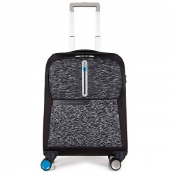 PIQUADRO BAGMOTIC Trolley da cabina porta pc NERO