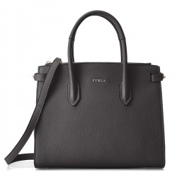 FURLA PIN Borsa a due manici in pelle ONYX