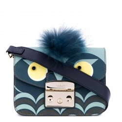 FURLA METROPOLIS JUNGLE Tracollina donna in pelle TONI BLU