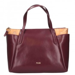 ALVIERO MARTINI Borsa due manici a mano in ecopelle BORDEAUX - F/W 2018-19