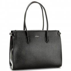 FURLA PIN Borsa shopping 3 scomparti in pelle ONYX CONTINUATIVO