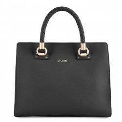LIU JO MANHATTAN Borsa con due zip NERO F/W 2018-19