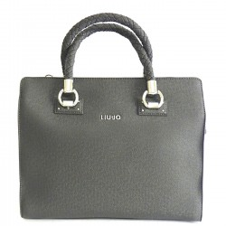 LIU JO MANHATTAN Borsa con due zip GRAPE JUICE MET F/W 2018-19