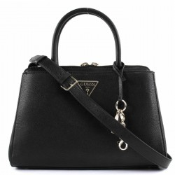 GUESS MADDY Borsa a mano in ecopelle BLACK P/E 2019