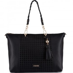 LIU JO Borsa shopper in ecopelle NERO P/E 2019
