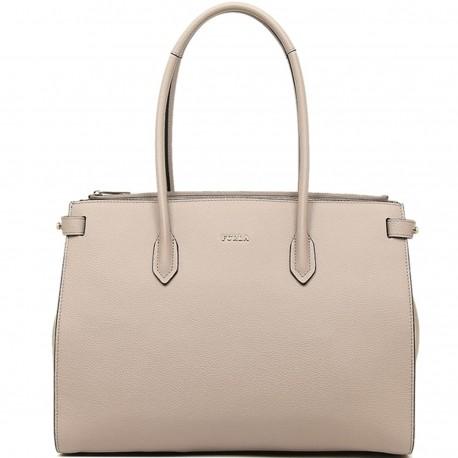 FURLA PIN Bag 2 handles in mano 3 partitions leather DALIA P   E ... d6913406f4d