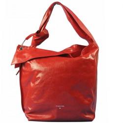 PATRIZIA PEPE Borsa Bag a spalla in pelle MARS RED P/E 2019