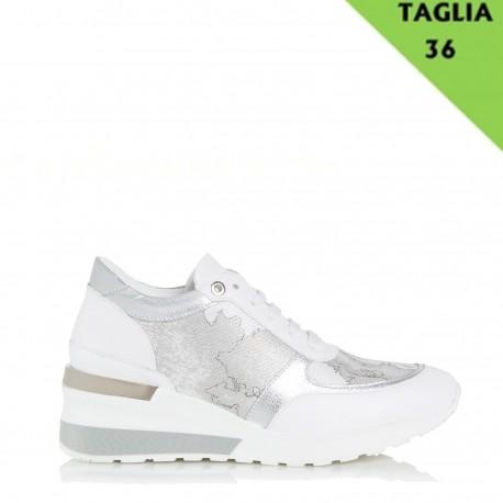 economico per lo sconto a2f89 53f29 ALVIERO MARTINI PRIMA CLASSE Sneaker donna WHITE TG.36 P/E 2019