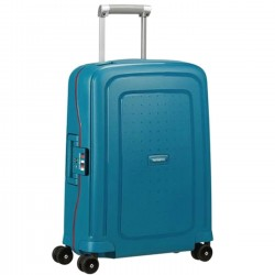 SAMSONITE S'CURE Spinner 55/20 PETROL BLUE STRIPES