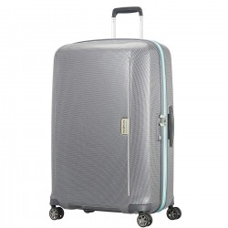 SAMSONITE MIXMESH SPINNER 75/28 GREY CAPRI BLU