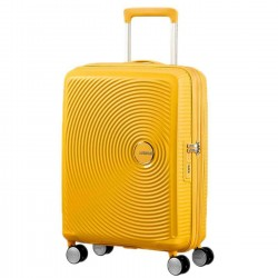 AMERICAN TOURISTER SOUNDBOX Trolley spinner 55/20 GOLDEN YELLOW