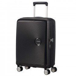 AMERICAN TOURISTER SOUNDBOX trolley spinner 55/20 tsa exp BASS BLAC
