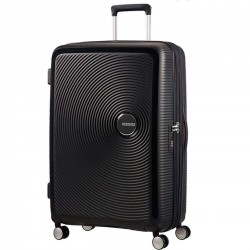 AMERICAN TOURISTER SOUNDBOX Trolley spinner medio 67/24 EXPANDIBLE BLACK
