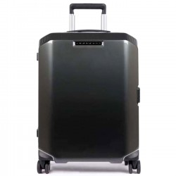 PIQUADRO CB Trolley piccolo spinner rigido NERO