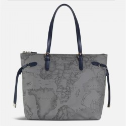 ALVIERO MARTINI PRIMA CLASSE Shopper due manici morbida DARK GREY A/I 2019-2020