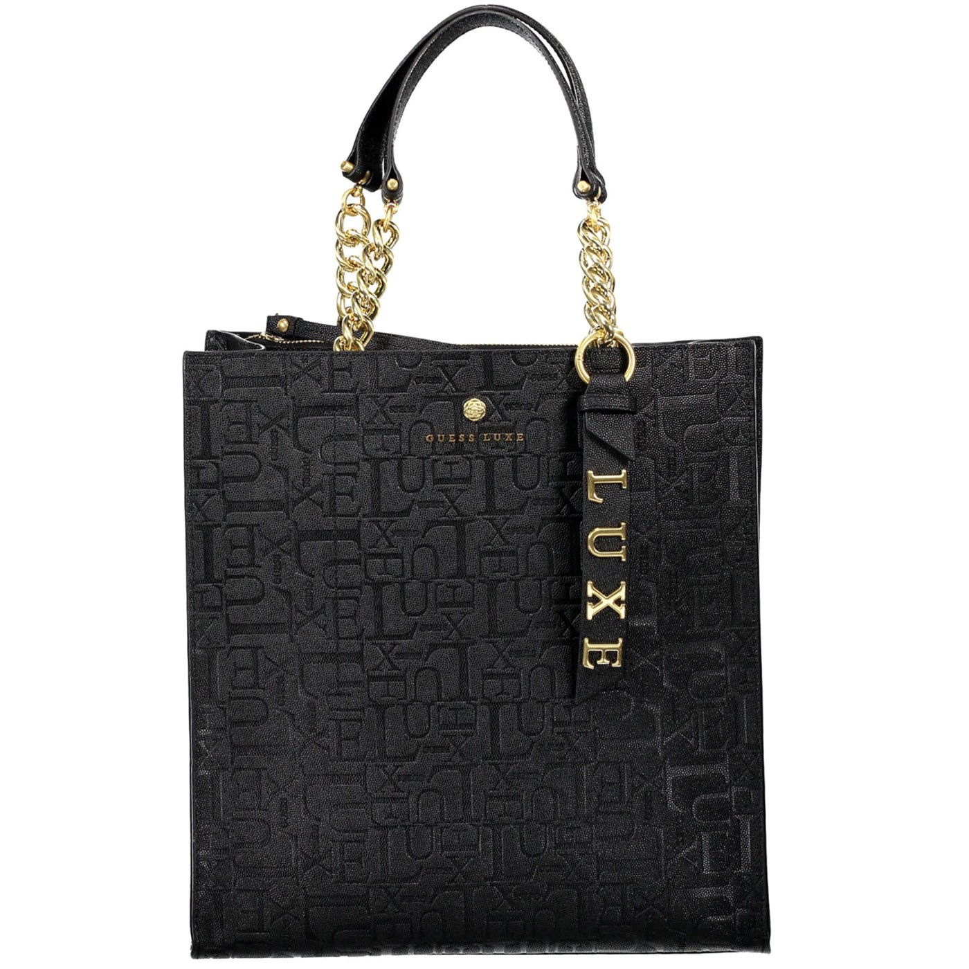 GUESS LUXE Leather big bag with two handles