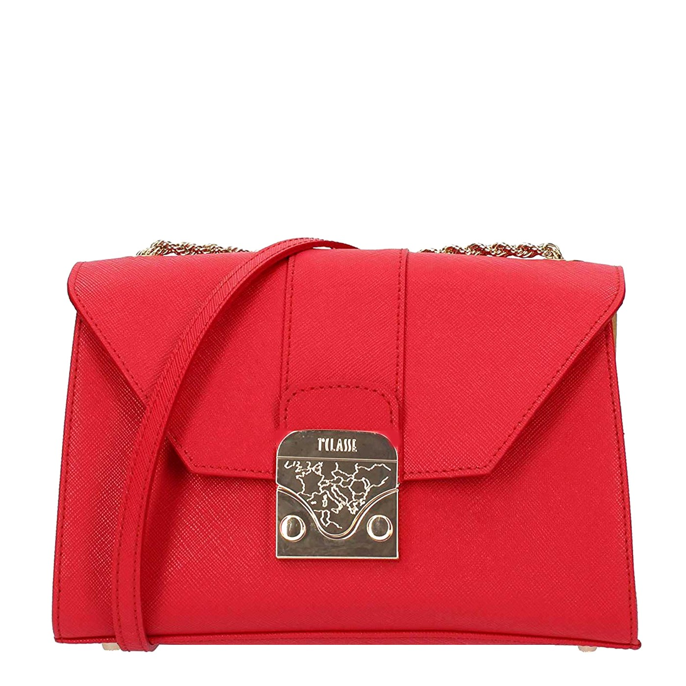 negozio online 313f7 cb67f Details about ALVIERO MARTINI FIRST CLASS shoulder bag with chain RED S/S  2019
